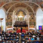 Konzert Chor viril Surses am 17. März 2013 in der Baselgia Nossadonna Savognin.  © Bild: Rolf Canal